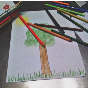 coloring trees